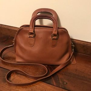 Beautiful vintage coach handbag